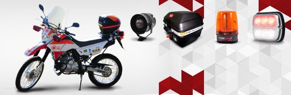 Sinalização para motos