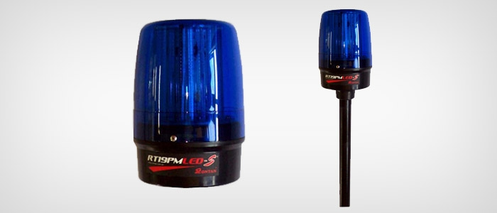 Sinalizador visual para motos RT19PMLED-S